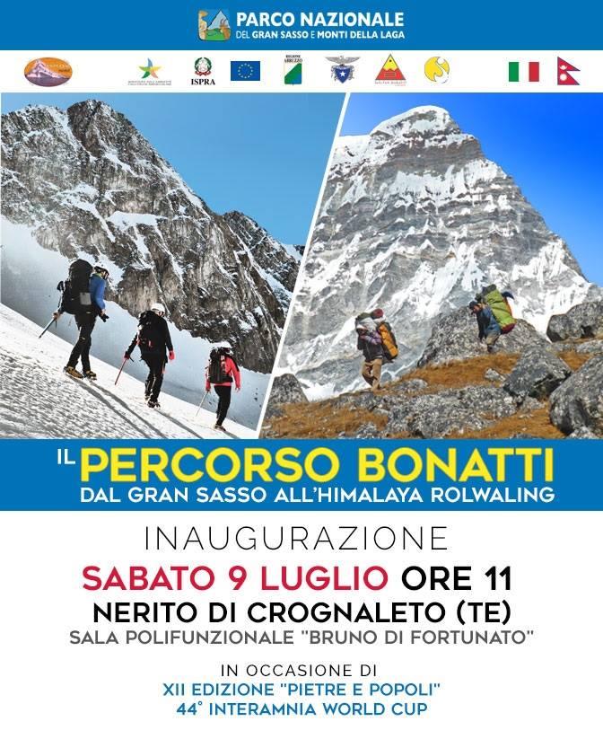 Inaugurazione Percorso Bonatti - Nerito 2016