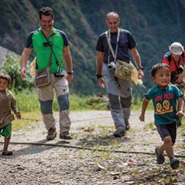 Costruzione Acquedotto in Himalaya dal Team EXPLORA