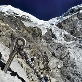1° via Ferrata d'Himalaya realizzata dal Team EXPLORA Nunaat International